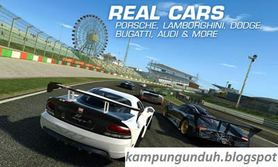 Real Racing 3 Mod Apk + data for Android Terbaru