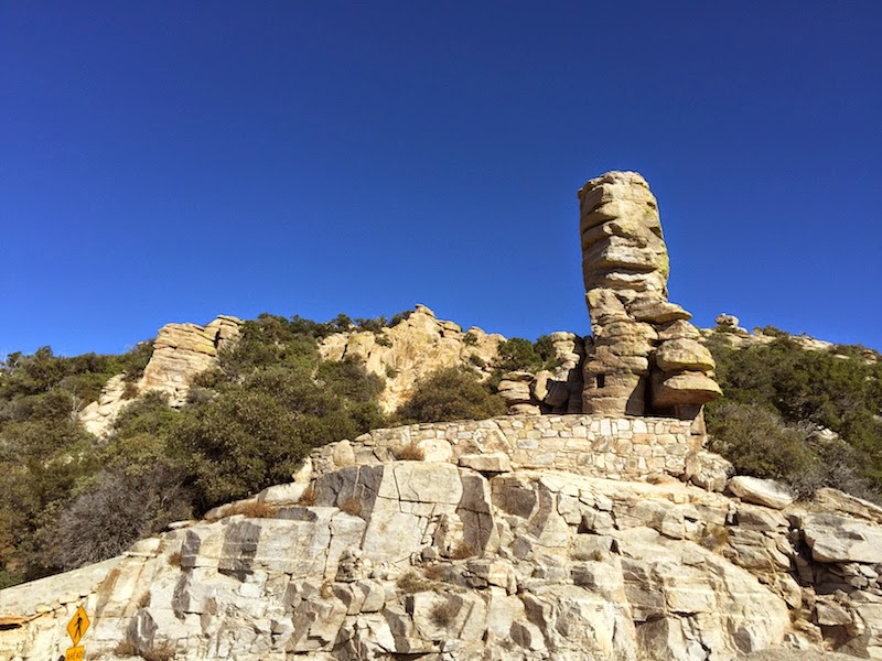 Rock formation at Mt. Lemmon in Tucson