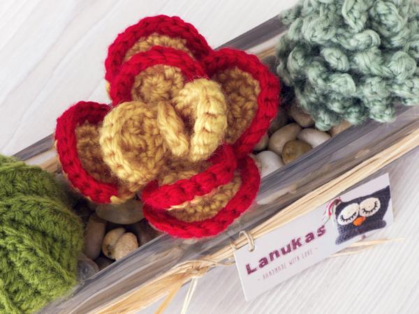 Crochet Amigurumi Cactus and Succulent Doll: Old Man Donkey | Etsy | 450x600