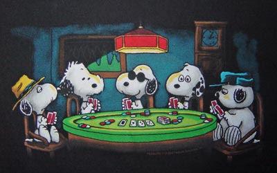 """""""Perros jugando a póker"""""""