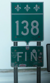 Fin de la route 138 - Kegaska - Côte nord