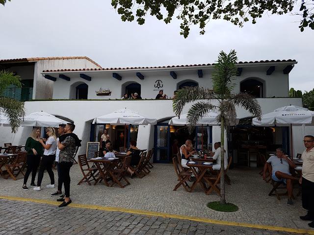 Restaurante Arcos do Canal - Cabo Frio - Rio de Janeiro