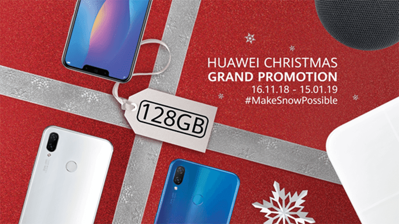 Huawei announces Home Credit promos for devices this Christmas season