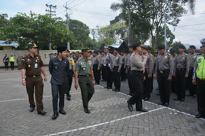 Kapolres Cek Kesiapan Personil dan Kelengkapan, Operasi Ramadniya Semeru 2017