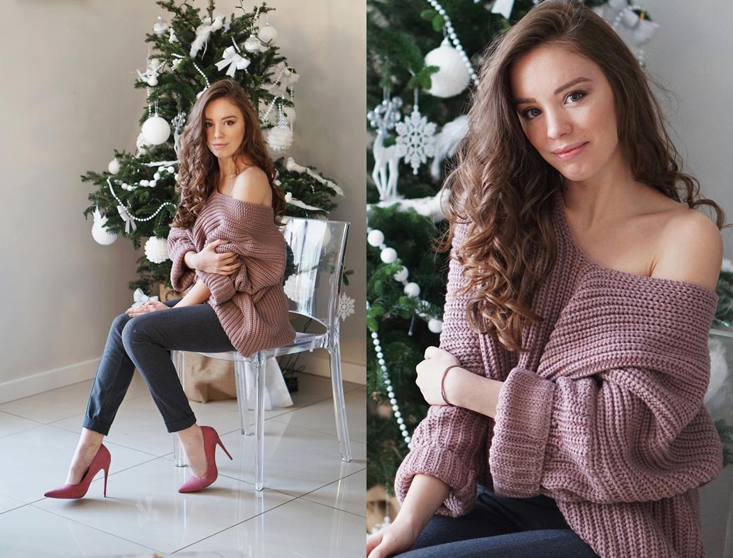 Naprawdę duży i ciepły sweter na zimowe dni!