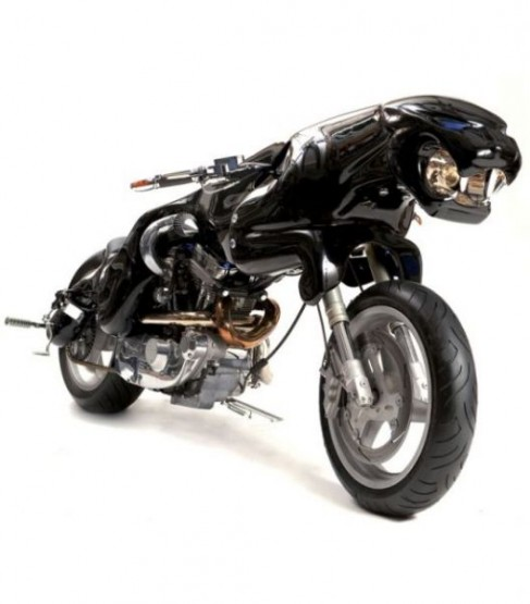 Modifikasi Motor Unik Keren lucu dan Juga Kreatif-9