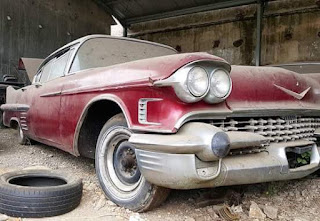 Dijual mobil superb RARE  Classic Cadillac 1958...