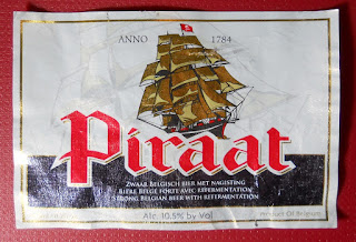 piraat strong belgian beer