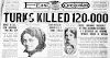 Οι Τούρκοι σκότωσαν 120.000  μόνο στη Σμύρνη - Όποιος πολιτικός ή εκπαιδευτικός το ξεχνά, αξίζει τουλάχιστον τη χλεύη μας