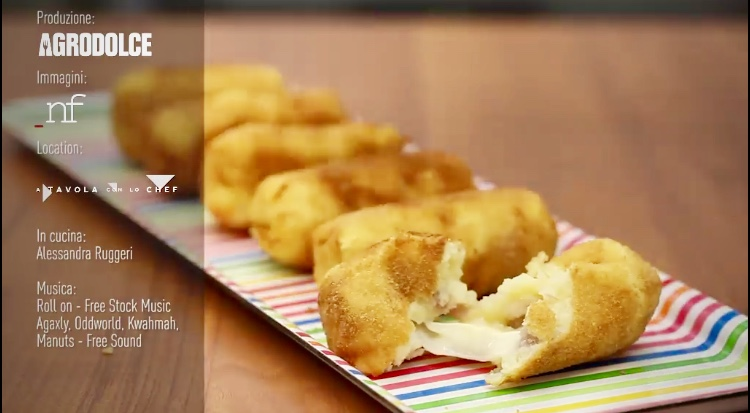 crocchette di patate e salsiccia agrodolce alessandra ruggeri