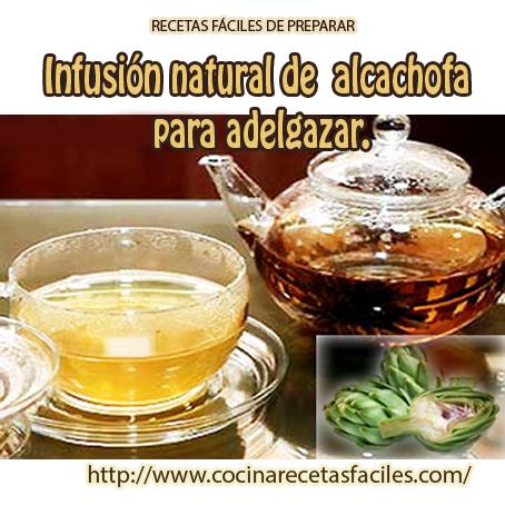 Receta de Infusión natural de alcachofa para adelgazar, la infusión de alcachofa es un excelente depurativo, favoreciendo igualmente a la eliminación de la retención de líquidos