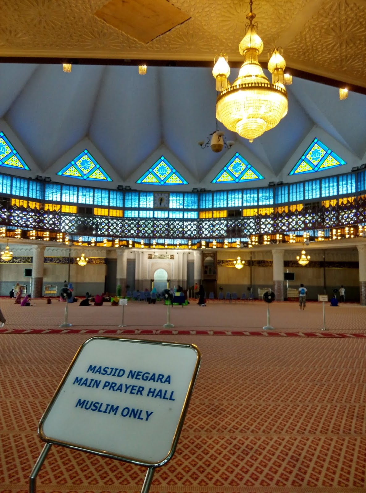 K M Cheng Travel Journal Malaysia National Mosque Royal
