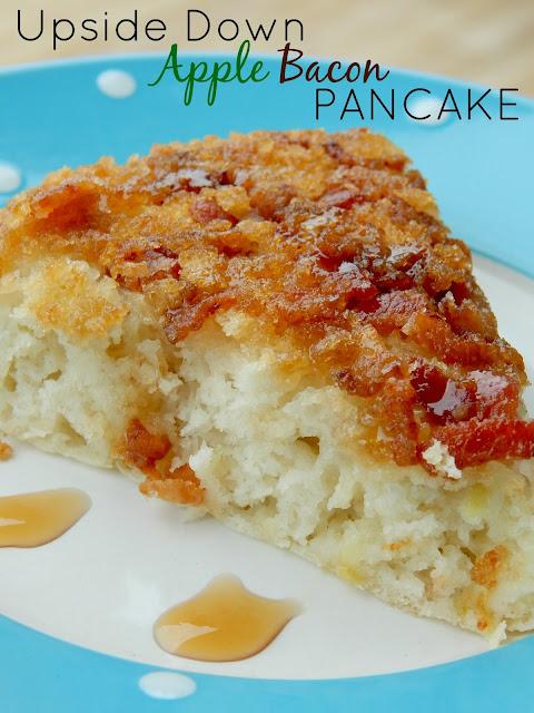 upside down apple bacon pancake (sweetandsavoryfood.com)