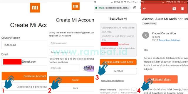 Cara Buka HP Xiaomi yang Terkunci (Lupa Pola/Password) - Akun Mi
