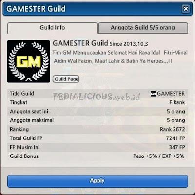 Guild Game Master (GM) Lost Saga Indonesia