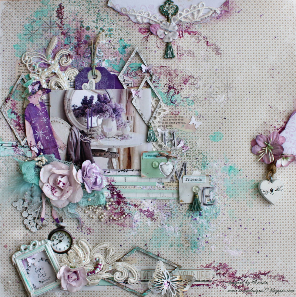 Living At Home März 2018 Scrapbook Dreams Home Sweet Home