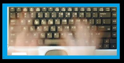 Ghost Keyboard Typing