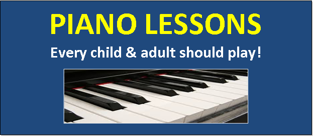 Consider, Piano lesson for adult point