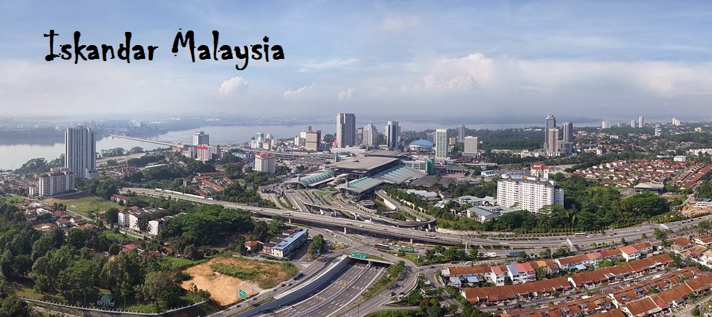 Iskandar Development Region in Johor Bahru (JB) Malaysia