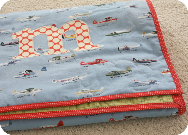 Wee Little Airplane Quilt