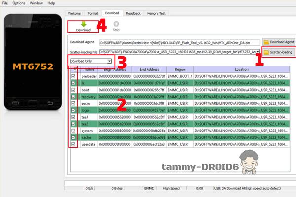 Cara Flash Nexian Journey One (Mi438S) Tested