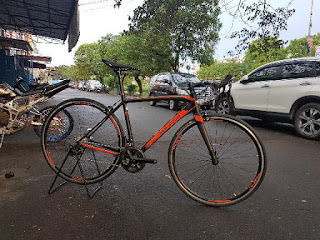 Sepeda Balap Polygon Stratos S5 11speed 105 full