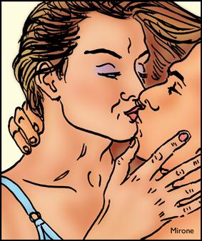 dessin baiser