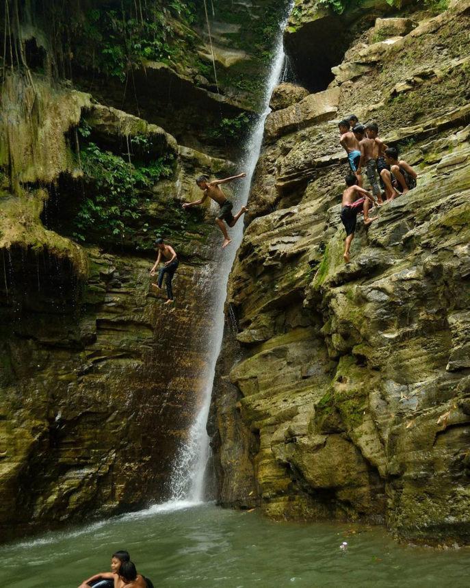 Curug Wringin Karangsambung Kebumen - Keindahan Air Terjun Yang Penuh Mitos