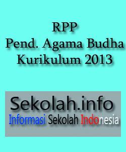 Contoh RPP Pendidikan Agama Budha