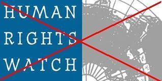 KHÔNG THỂ CHẤP NHẬN NỔI HUMAN RIGHTS WATCH