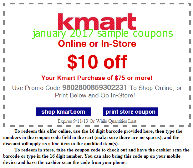 Shopping Tips for Kmart: 1. Earn rewards at Kmart, MyGofer, Lands' End, Sears, Kenmore and Craftsman by joining the Shop Your Way program. 2. Place pharmacy orders before noon on weekdays if you want prescriptions shipped from the pharmacy on the same day. 3.