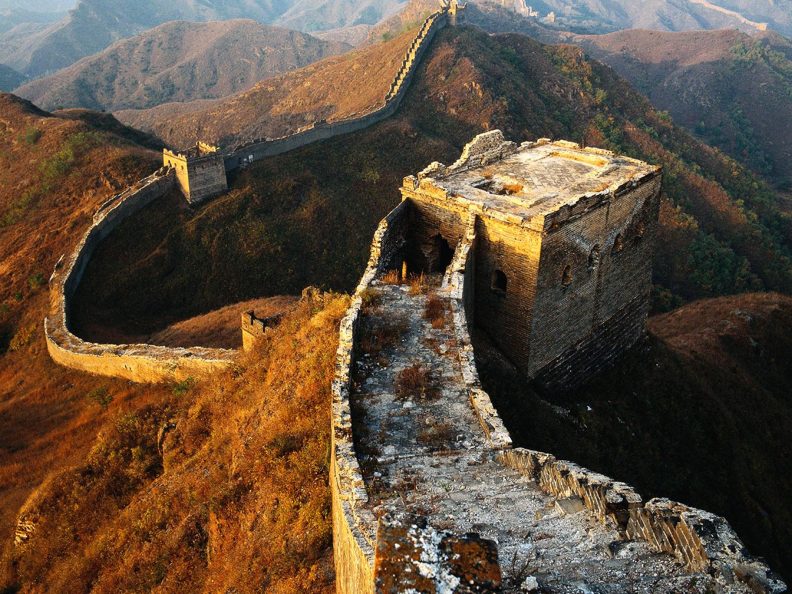 Zona Curio Cómo Se Construyó La Gran Muralla China
