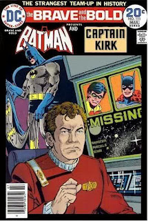 Batman and Captain Kirk
