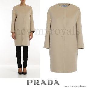 Sophie, Countess of Wessex wore PRADA Cocoon coat