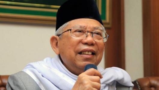 Sindir Prabowo, Ma'ruf Amin Sebut Utang Boleh dalam Islam