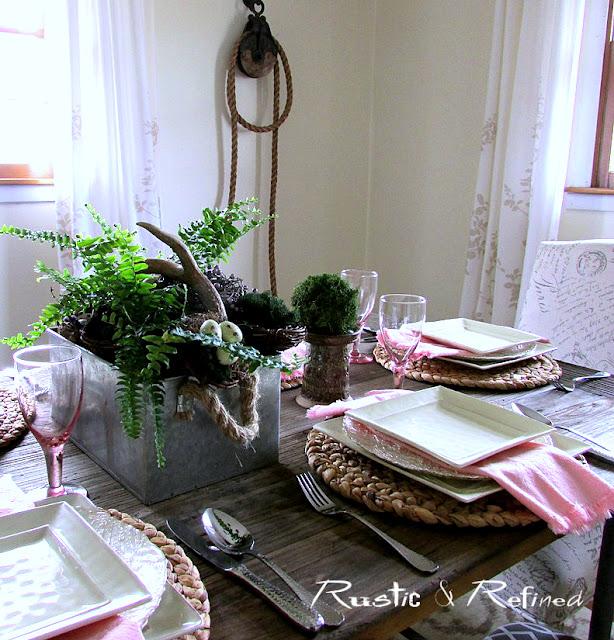 Tablescape ideas for the spring season