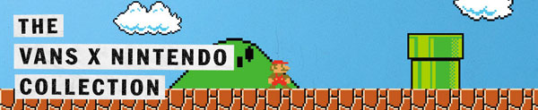 Vans X Nintendo, Fashion, gamer, Nintendo, Vans, Off the wall, vansxnintendo