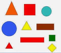 أشكال هندسية - تعليم الانجليزية بسهولة