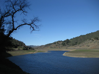 Uvas Reservoir, west of San Martin, California