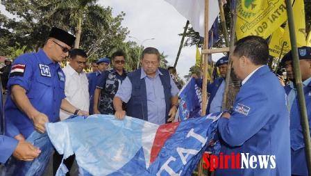 Terduga Pelaku Perusak Baliho SBY di Pekanbaru Sudah Diamankan