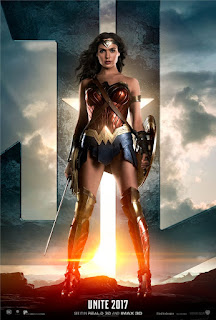 Warner Bros. Justice League Trailer Premiere Wonder Woman Poster
