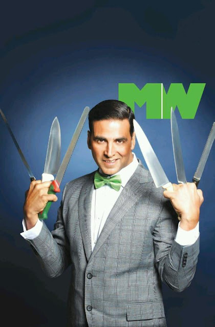 Akshay Kumar on the cover of Man's World  magazine @ March 2013