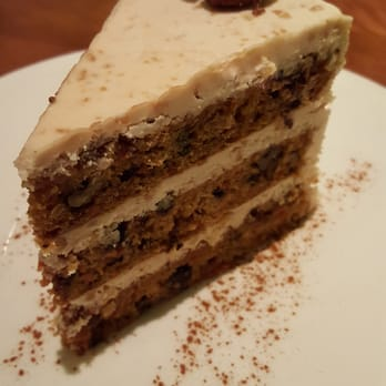 Sublime Restaurant Carrot Cake Fort Lauderdale Personal Chef