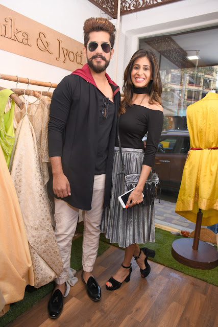 6. Suyyash Rai with Kishwar Merchant Rai