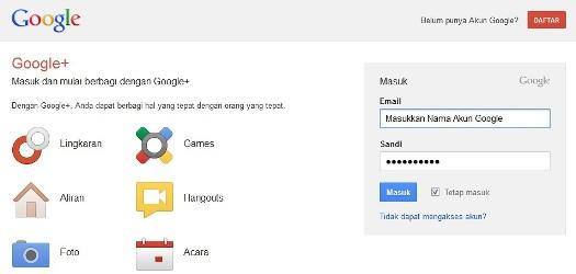 buka google plus