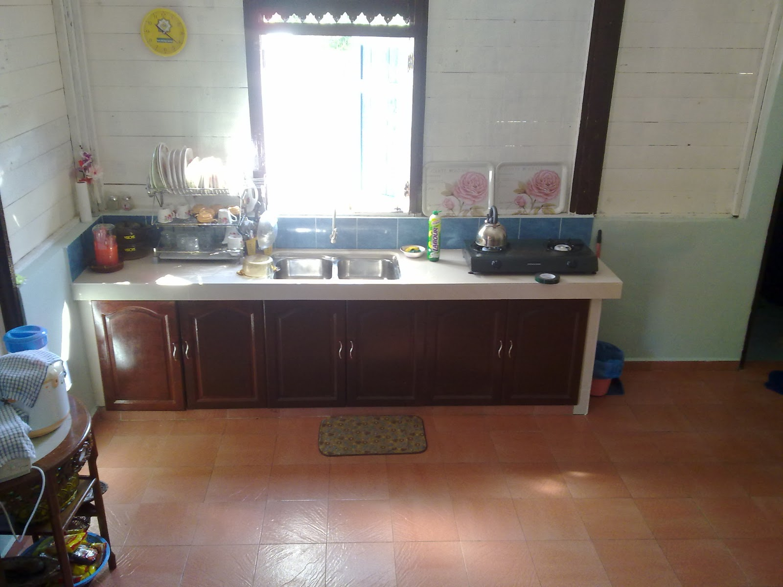 Ruang Dapur Rumah Kampung Desain Dekorasi Rumah