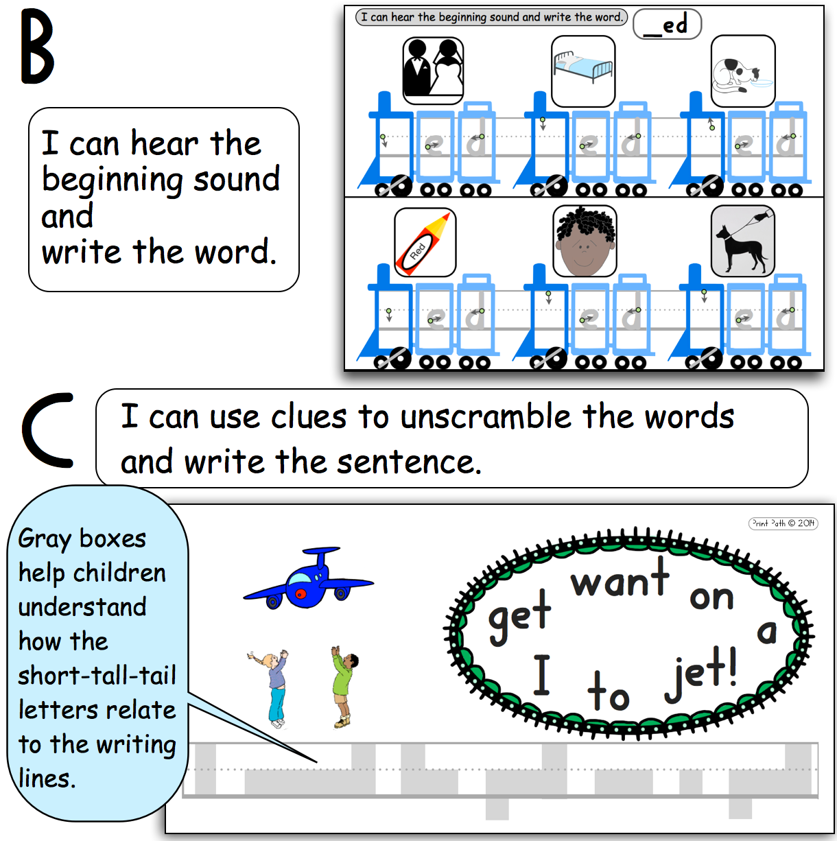 Cvc Independent Work Short Vowel Word Families Pre