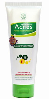 Tips Menghilangkan Jerawat Dengan Acnes Creamy Wash