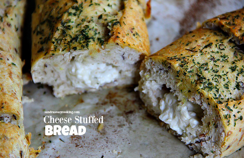 Boursin® Cheese Stuffed Bread