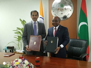 India and Maldives Signed 5 MoUs